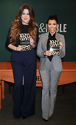 Khloe Kardashian and Kourtney Kardashian promote 'Dollhouse' at the Barnes & Noble, 5th Avenue in New York City on November 16, 2011. Photo by Dennis Van Tine/ABACAPRESS.COM    298093_005