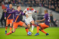Lyon vs Manchester City - 27 Nov 2018