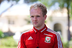 VALE DO LOBO, PORTUGAL - Wednesday, May 25, 2016: Wales' Jonathan Williams during day two of the pre-UEFA Euro 2016 training camp at the Vale Do Lobo resort in Portugal. (Pic by David Rawcliffe/Propaganda)
