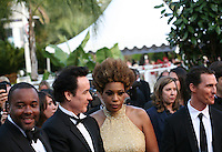 Lee Daniels,  John Cusack, Macy Gray, Matthew Mcconaughey,  at The Paperboy gala screening red carpet at the 65th Cannes Film Festival France. Thursday 24th May 2012 in Cannes Film Festival, France.