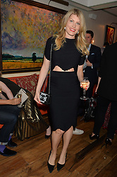 MEREDITH OSTROM at the 50th anniversary party for Daphne's restaurant, 112 Draycott Avenue, London held on 24th June 2014.