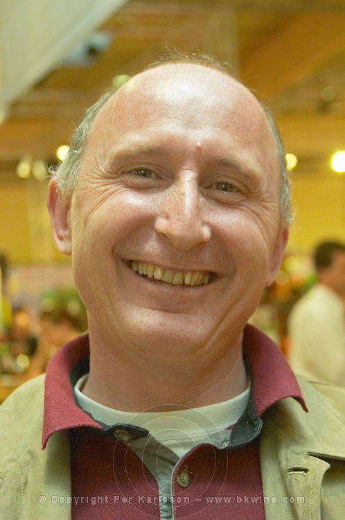 Luc de Conti, owner and winemaker at Chateau Tour des Gendres, Bergerac, France