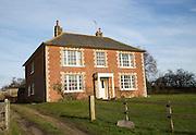 Detached farmhouse home Ferry farm, Butley, Suffolk, England, UK
