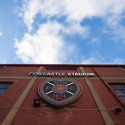 Tynecastle Stadium, November 2012