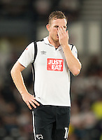 Derby County's Alex Pearce<br /> <br /> Photographer James Williamson/CameraSport<br /> <br /> The EFL Sky Bet Championship - Derby County v Ipswich Town - Tuesday 13th September 2016 - iPro Stadium - Derby<br /> <br /> World Copyright © 2016 CameraSport. All rights reserved. 43 Linden Ave. Countesthorpe. Leicester. England. LE8 5PG - Tel: +44 (0) 116 277 4147 - admin@camerasport.com - www.camerasport.com