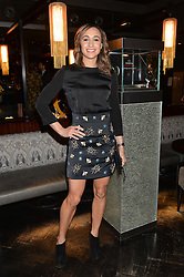 JESSICA ENNIS-HILL at the OMEGA VIP dinner hosted by Cindy Crawford and OMEGA President Mr. Stephen Urquhart held at aqua shard', Level 31, The Shard, 31 St Thomas Street, London, SE1 9RY on 10th December 2014.
