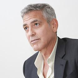 September 1, 2017 - Venice, California, Italy - George Clooney director of Suburbicon that he co-wrote with The Cohn Brothers. The movie will presented tomorrow night at the Venice Fim Festival. The movie stars Matt Damon and Julianna Moore. (Credit Image: © Armando Gallo via ZUMA Studio)