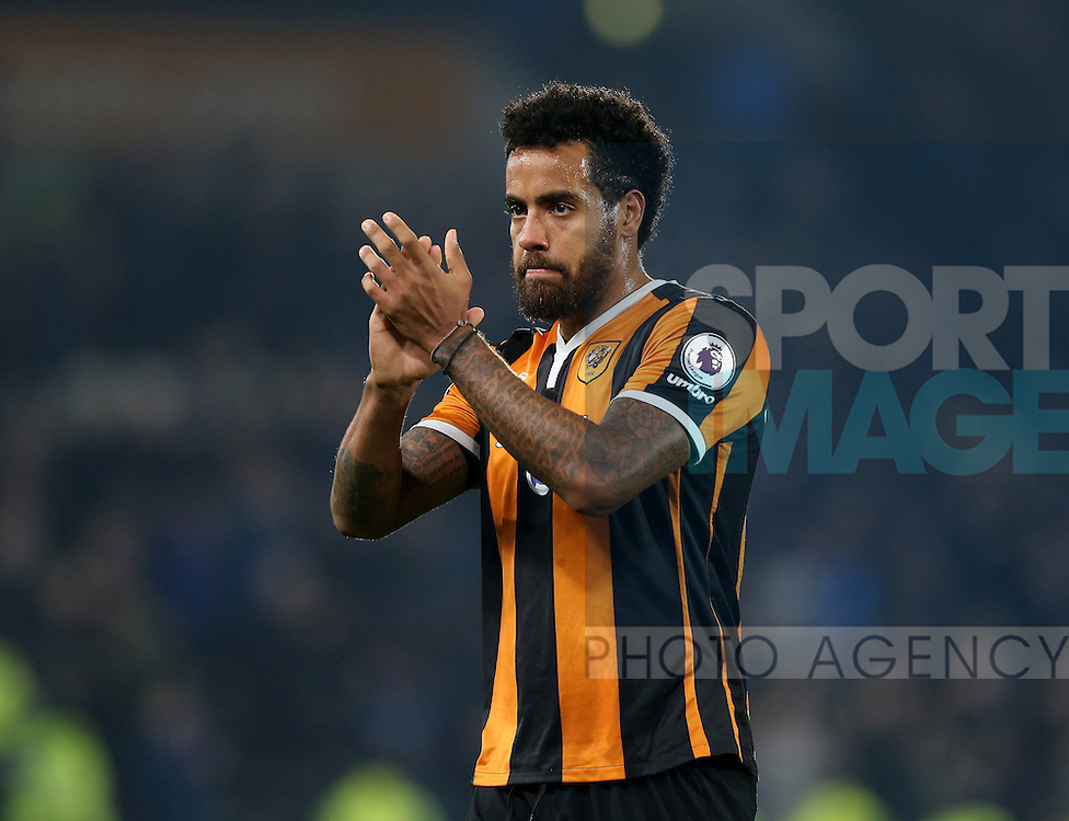 Tom Huddlestone of Hull City during the English Premier League match at the KCOM Stadium, Kingston Upon Hull. Picture date: December 30th, 2016. Pic Simon Bellis/Sportimage