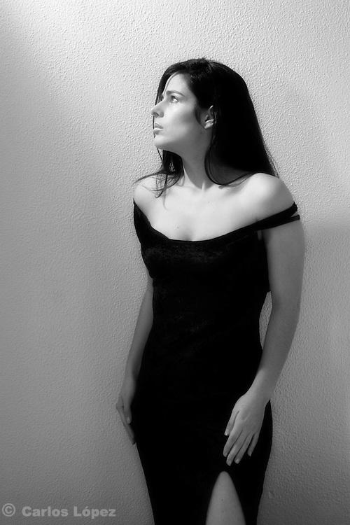 Neuza Diza, portuguese model in photo session.