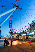 London Eye Leisure Centre neighbourhood or Millenium Wheel that is located on the South Bank of the River Thames is seen as nearly empty as commuters work from home as well as tourism is paused due to the coronavirus pandemic. Sunday, March 22, 2020. The British government is encouraging people to practice social distancing to help prohibit the spread of Coronavirus, further restrictions may be imposed if the public does not adhere to their advice. For most people, the new coronavirus causes only mild or moderate symptoms, such as fever and cough. For some, especially older adults and people with existing health problems, it can cause more severe illness, including pneumonia. (Photo/Vudi Xhymshiti)