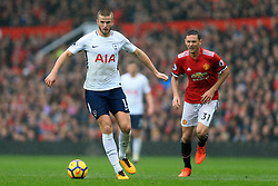 28th October 2017 - Premier League - Manchester United v Tottenham Hotspur - Eric Dier of Spurs battles with Nemanja Matic of Man Utd - Photo: Simon Stacpoole / Offside.