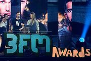 De 3FM Awards 2014 in de Gashouder, Amsterdam.<br /> <br /> Op de foto:  The Opposites winnen de award voor beste artiest hip hop