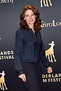 Openingsavond van het Nederlands Film Festival met de premiere van Niemand in de stad.<br /> <br /> Op de foto:  Rifka Lodeizen