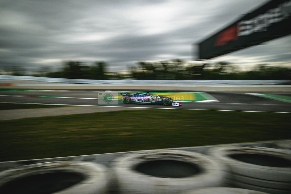 May 11, 2019 - Barcelona, Catalonia, Spain - SERGIO PEREZ (MEX) from team Racing Point drives in his RP19 during the third practice session of the Spanish GP at Circuit de Catalunya (Credit Image: © Matthias Oesterle/ZUMA Wire)