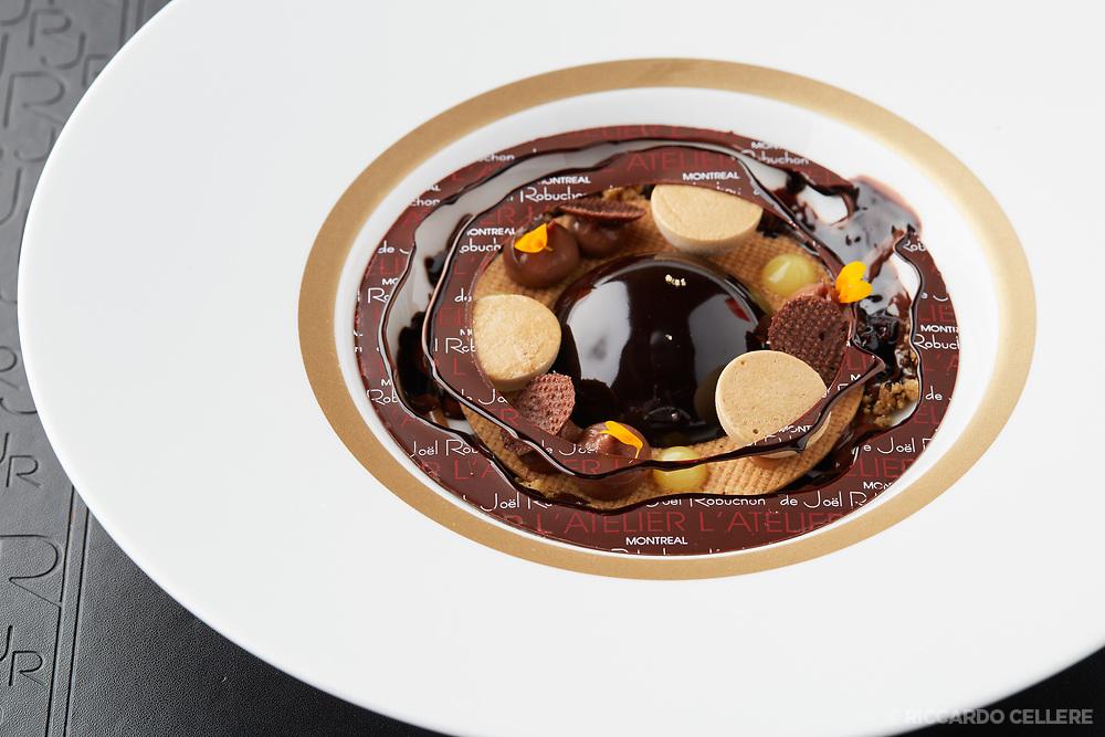 Food photography. Atelier Robuchon. Casino de Montreal.
