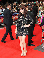 Tamla Kari The Inbetweeners Movie world premiere, Vue Cinema, Leicester Square, London, UK, 16 August 2011:  Contact: Rich@Piqtured.com +44(0)7941 079620 (Picture by Richard Goldschmidt)