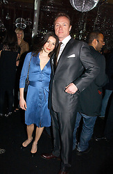 GARY & LAUREN KEMP at the launch party for the fashion label Javovich-Hawk held at the Fifth Floor Cafe, Harvey Nichols, Knightsbridge, London on 27th April 2006.<br />