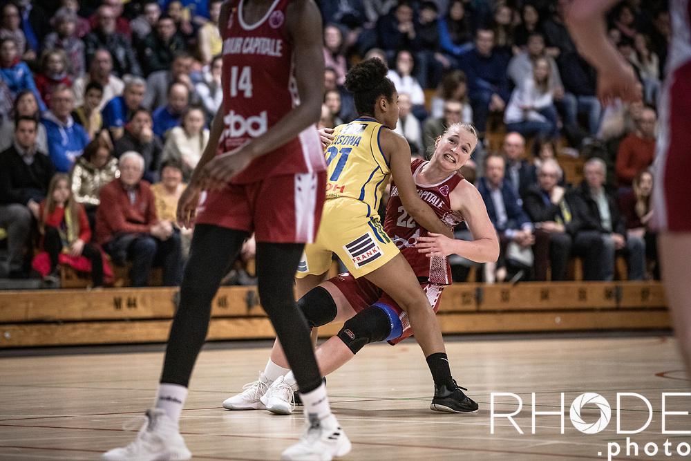 Belgian Cup Basketball Women <br /> game 2<br /> Castors Braine (BEL)-Basket Namur Capitale (BEL): 81-73 <br /> Wednesday March 06 , 2019<br /> <br /> ©RhodePhoto