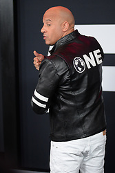 April 8, 2017 - New York, NY, USA - April 8, 2017  New York City..Vin Diesel attending 'The Fate Of The Furious' New York premiere at Radio City Music Hall on April 8, 2017 in New York City. (Credit Image: © Kristin Callahan/Ace Pictures via ZUMA Press)