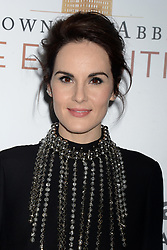 Michelle Dockery attending 'Downton Abbey: The Exhibition' Gala Reception on November 17, 2017 in New York City, NY, USA. Photo by Dennis Van Tine/ABACAPRESS.COM