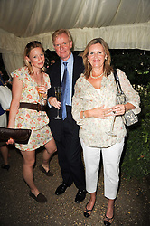 Left to right, MILLY BOWEN, CHRISTOPHER ROWELL and ROSIE WELBOURN at the Apollo Magazine Summer Party held at 22 Old Queen Street, London, SW1 on 29th June 2010.