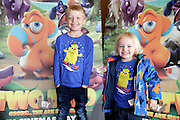 NO FEE PICTURES <br /> 19/4/15 Ruairi (6) and Tomas (3) Allen, Lusk at the Irish Premiere of Two by Two at the Savoy cinema in Dublin. Picture:Arthur Carron