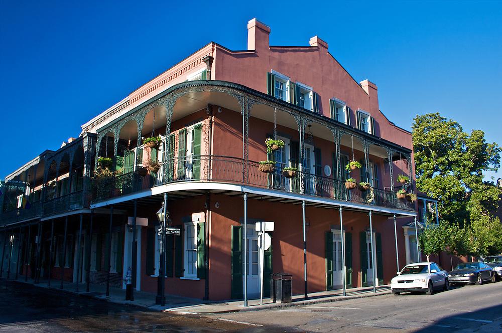 Gov. Nichols Avenue, French Quarter, New Orleans, Louisiana, USA