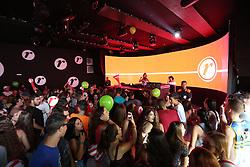 DJ Analu Giacomolli toca no Camarote Renner durante a 22ª edição do Planeta Atlântida. O maior festival de música do Sul do Brasil ocorre nos dias 3 e 4 de fevereiro, na SABA, na praia de Atlântida, no Litoral Norte gaúcho. Foto: Marcos Nagelstein / Agência Preview