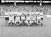 A group photograph of the Dublin team before the Kerry v Dublin All Ireland Senior Gaelic Football Final in Croke Park on the 24th of September 1978. Kerry 5-11 Dublin 0-9.