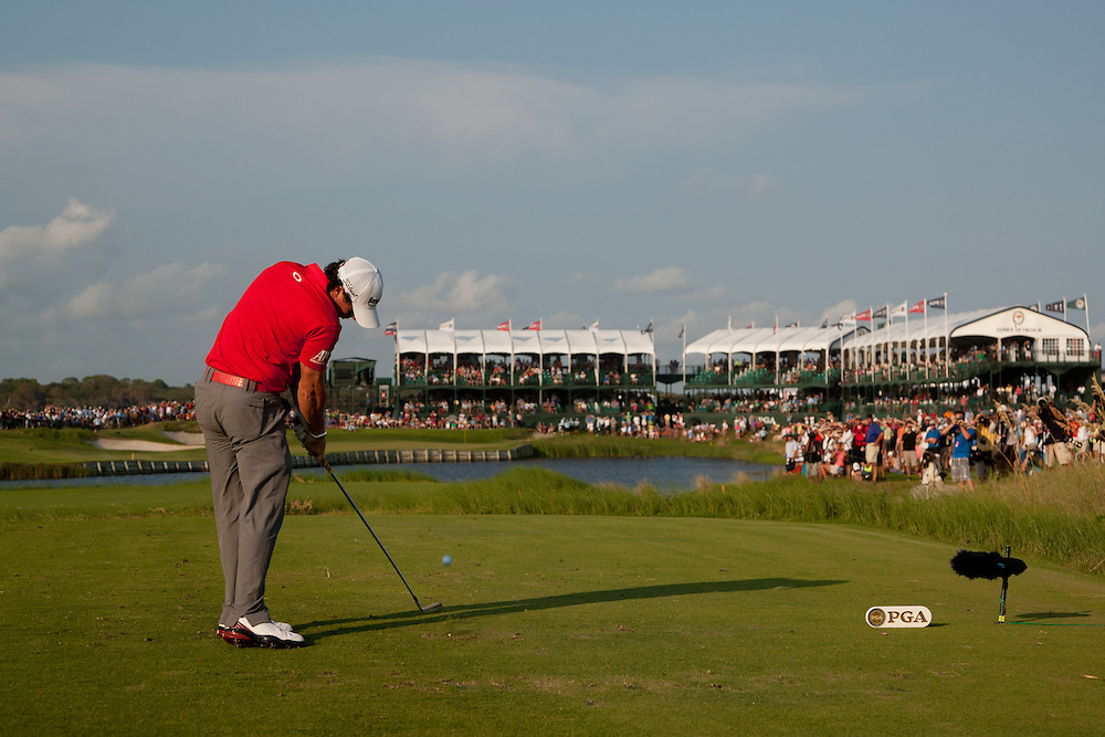 KIAWAH ISLAND, SC - AUGUST 12:  Rory McIlroy of Northern Ireland plays a tee shot during the final round of the 2012 PGA Championship at The Ocean Course on Kiawah Island, South Carolina on August 12, 2012. (Photograph ©2012 Darren Carroll) *** Local Caption *** Rory McIlroy