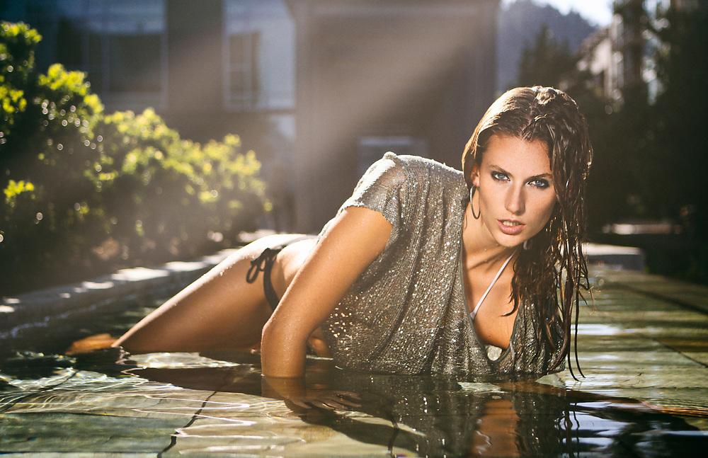 HEATWAVE Series featuring Alesha Deesing. Fashion Swim Photoshoot from Portland, Oregon.