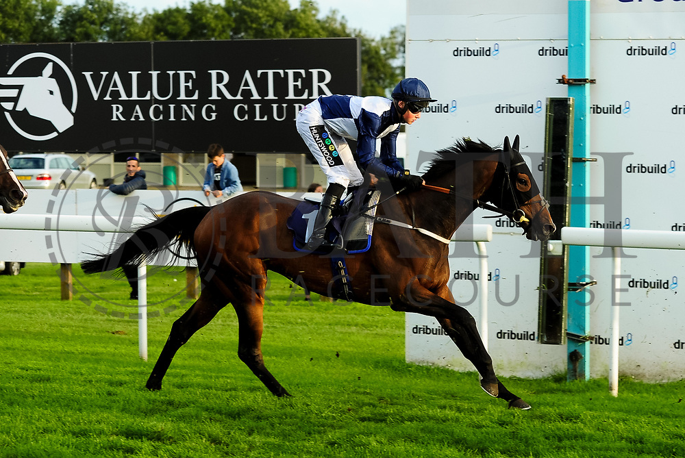 Uncertain Smile ridden by William Cox and trained by Clive Cox in the Kingstone Press Wild Berry Handicap (Class 6)  race.  - Ryan Hiscott/JMP - 17/08/2019 - PR - Bath Racecourse - Bath, England - Race Meeting at Bath Racecourse