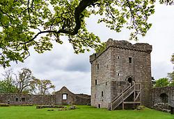 Loch Leven Castle in Scotland, UK