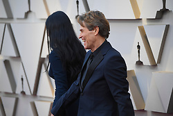 February 24, 2019 - Los Angeles, California, U.S - GIADA COLAGRANDE AND WILLEM DAFOE during red carpet arrivals for the 91st Academy Awards, presented by the Academy of Motion Picture Arts and Sciences (AMPAS), at the Dolby Theatre in Hollywood. (Credit Image: © Kevin Sullivan via ZUMA Wire)
