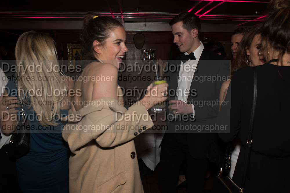 MILLY WILKINSON, Fraser Carruthers  and Harry Scofield birthday. Archie's club, 92b Old Brompton Rd. London. 11 February 2017
