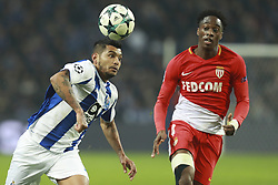 December 6, 2017 - Na - Porto, 06/12/2017 - Football Club of Porto received, this evening, AS Monaco FC in the match of the 6th Match of Group G, Champions League 2017/18, in Estádio do Dragão. Jesus Corona; Terence Kongolo  (Credit Image: © Atlantico Press via ZUMA Wire)
