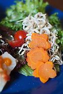 A salad at the restaurant Quinua y Amaranto