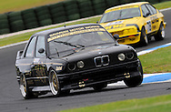 David Towe - BMW M3 - Group B.Historic Motorsport Racing - Phillip Island Classic.18th March 2011.Phillip Island Racetrack, Phillip Island, Victoria.(C) Joel Strickland Photographics.Use information: This image is intended for Editorial use only (e.g. news or commentary, print or electronic). Any commercial or promotional use requires additional clearance.
