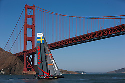 Practice day, monday October 1st. AC45 World Series San Francisco (Oct. 2-7).