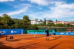 Tennis tournament of Slovenian Recreational players, on August 16, 2020 in SC Marina, Portoroz / Portorose, Slovenia. Photo by Vid Ponikvar / Sportida