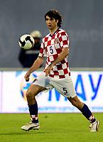Fotball<br /> 06.06.2009<br /> Kroatia v Ukraina<br /> Foto: Gepa/Digitalsport<br /> NORWAY ONLY<br /> <br /> Bild zeigt Vedran Corluka (CRO)