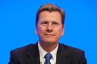 17 JAN 2009, BERLIN/GERMANY:<br /> Guido Westerwelle, FDP Bundesvorsitzender, Europaparteitag der FDP, Estrel Convention Center<br /> IMAGE: 20090117-01-016<br /> KEYWORDS: party congress