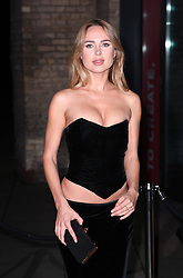 Kimberley Garner arriving at the Fabulous Fund Fair, Camden Roundhouse, London.<br />