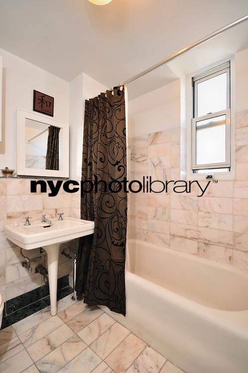 Bathroom at 233 West 99th Street