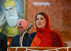 Jo Swinson visits Sikh Temple, Glasgow, 14 November 2019