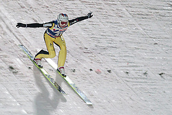 24.11.2012, Lysgards Schanze, Lillehammer, NOR, FIS Weltcup, Ski Sprung, Herren, im Bild Simon Amman (SUI) during the mens competition of FIS Ski Jumping Worldcup at the Lysgardsbakkene Ski Jumping Arena, Lillehammer, Norway on 2012/11/23. EXPA Pictures © 2012, PhotoCredit: ..EXPA/ Federico Modica