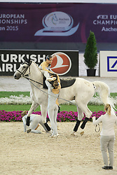 Lutisburg SUI Team, (SUI), Will Be Good<br /> Female Squed Final Freestyle Test<br /> FEI European Championships - Aachen 2015<br /> © Hippo Foto - Dirk Caremans<br /> 23/08/15