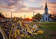 Refugio, Texas after Hurricane Harvey