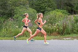 elite women's mile 2, Sisson, Hall
