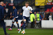 Scotland midfielder Scott McTominay (6) (Manchester United) warming up during the UEFA European 2020 Qualifier match between Scotland and Russia at Hampden Park, Glasgow, United Kingdom on 6 September 2019.